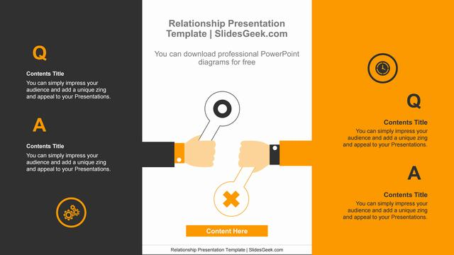 Signposts-holding-PowerPoint-Diagram-Template Slide Feature Image