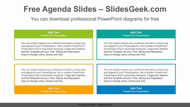 Simple-color-text-boxes-PowerPoint-Diagram-Template Feature Image