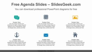 Simple-icon-list-PowerPoint-Diagram-Template Feature Image