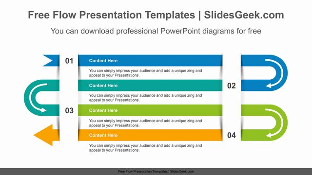 Snake-Arrow-PowerPoint-Diagram-Template Feature image