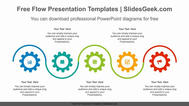 Snake-Wave-Gear-PowerPoint-Diagram Feature Image