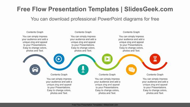 Snake-wave-PowerPoint-Diagram-Template Feature Image