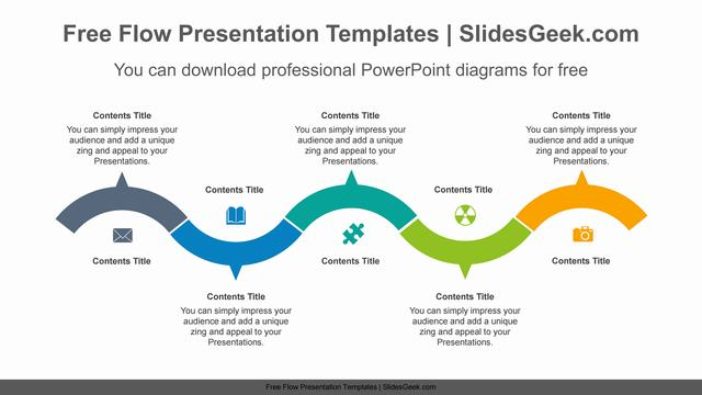 Snaky-semicircular-ring-PowerPoint-Diagram-Template Feature Image