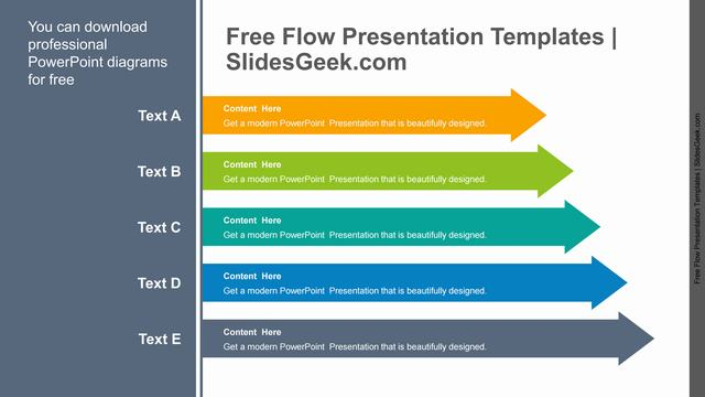 Stacked-Arrows-PowerPoint-Diagram Feature image