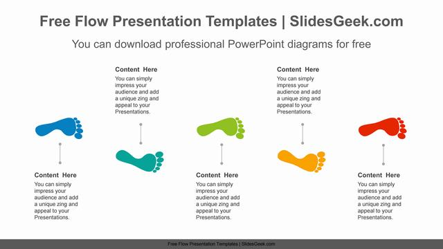 Step-five-footsteps-PowerPoint-Diagram-Template Feature Image