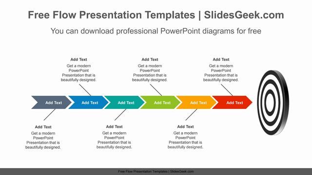 Targeting-chevron-arrow-PowerPoint-Diagram-Template Feature image