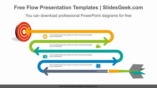 Targeting-curved-arrow-PowerPoint-Diagram-Template Feature Image