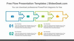 Text-box-arrow-flow-PowerPoint-Diagram-Template Feature Image