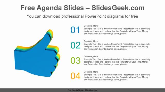 Thumbs-Up-PowerPoint-Diagram Feature Image