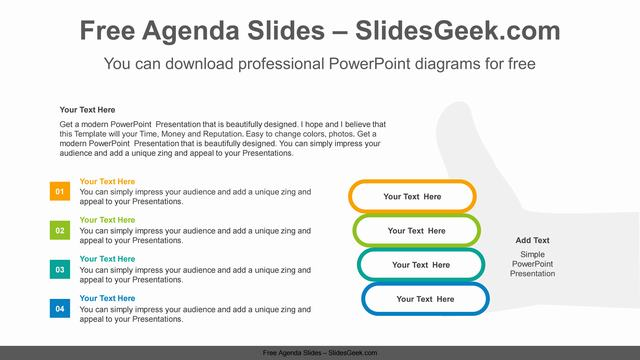 Thumbs-up-gesture-PowerPoint-Diagram-Template Feature Image