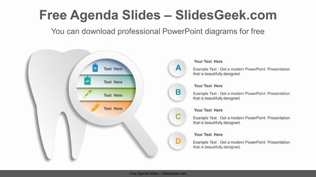 Tooth-magnifier-PowerPoint-Diagram-Template Feature Image