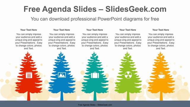 Tree-Silhouettes-PowerPoint-Diagram Feature Image