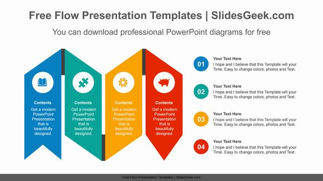 Twisted-Ribbon-PowerPoint-Diagram Feature Image