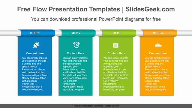 Vertical-banner-flow-PowerPoint-Diagram-Template Feature Image