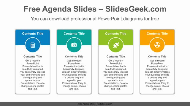 Vertical-carded-banner-PowerPoint-Diagram-Template Feature Image