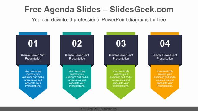 Vertical-flag-banner-PowerPoint-Diagram Feature Image