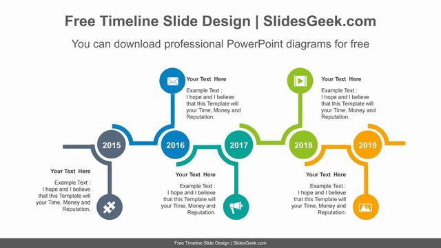 Circle-signpost-PowerPoint-Diagram-Template feature image