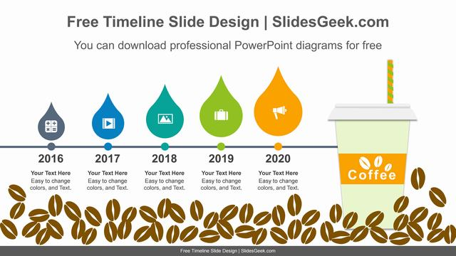 Coffee-Bean-drop-PowerPoint-Diagram feature image