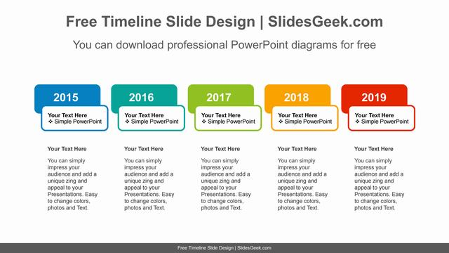 Colorful-Text-Boxes-PowerPoint-Diagram feature image