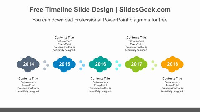 Colorful-clouds-PowerPoint-Diagram-Template feature image