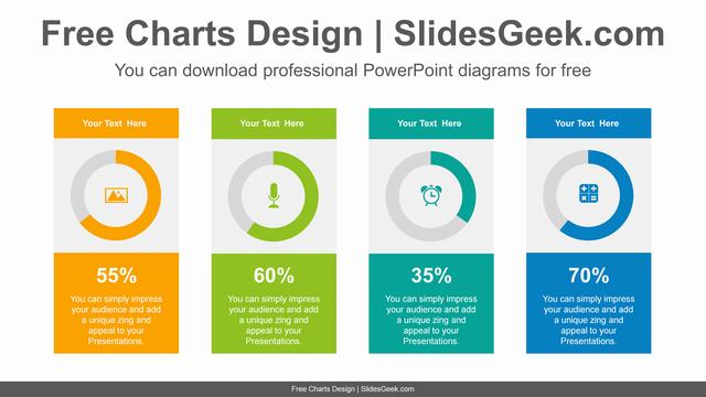 Colorful-donuts-charts-PowerPoint-Diagram-Template feature image