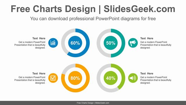 Colorful-doughnut-charts-PowerPoint-Diagram-Template feature image