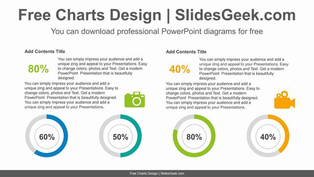 Comparative-doughnut-charts-PowerPoint-Diagram-Template feature image