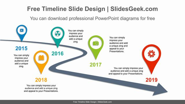 Curved-arrow-placemark-PowerPoint-Diagram-Template feature image