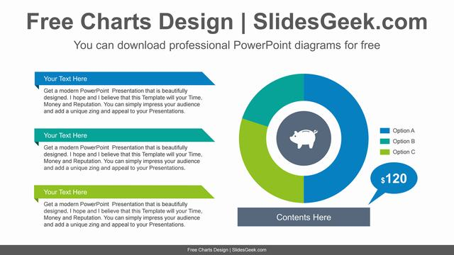 Donut-pie-chart-PowerPoint-Diagram-Template feature image