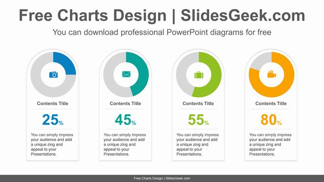 Doughnut-Charts-Card-PowerPoint-Diagram feature image