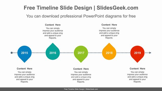 Five-placemark-icon-PowerPoint-Diagram-Template slide feature image