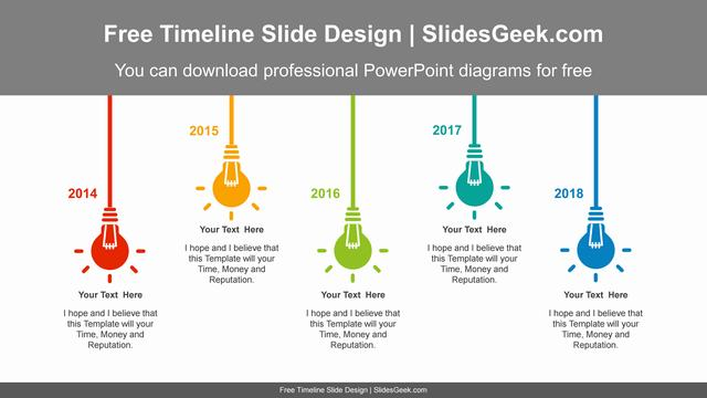 Flashing-light-bulbs-PowerPoint-Diagram-Template feature image