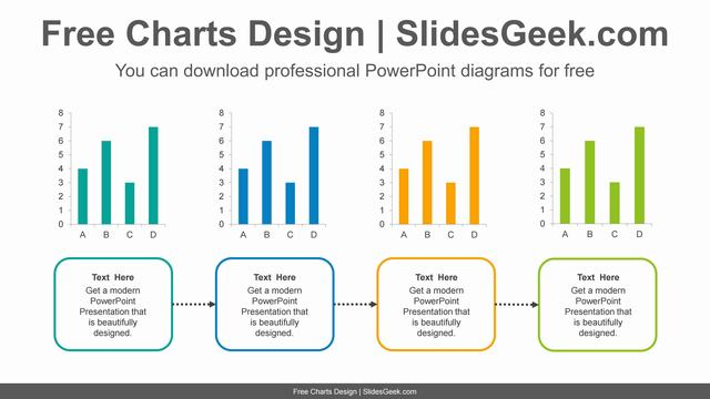 Four-Bar-Chart-PowerPoint-Diagram feature image
