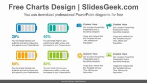 Four-battery-graphs-PowerPoint-Diagram-Template feature image