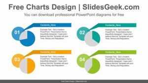 Four-pie-chart-PowerPoint-Diagram-Template feature image