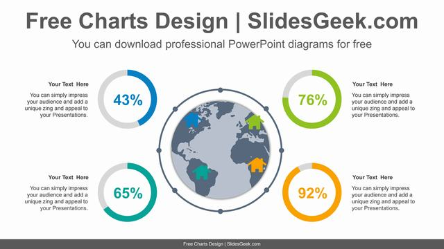 Global-Doughnut-Chart-PowerPoint-Diagram feature image