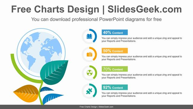 Globe-plants-doughnut-charts-PowerPoint-Diagram-Template feature image