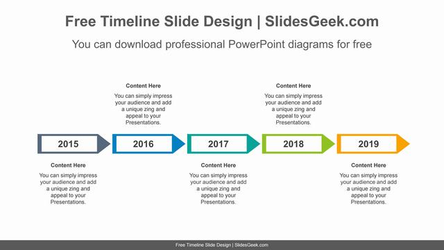 Horizontal-alignment-arrows-PowerPoint-diagram-template feature image