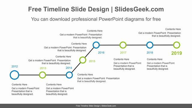 Horizontal-point-PowerPoint-Diagram feature image
