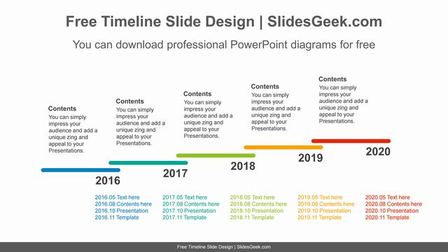 Long-bar-stairs-PowerPoint-Diagram feature image