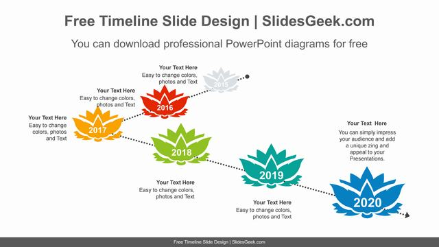 Lotus-Above-Dotted-Line-PowerPoint-Diagram feature image