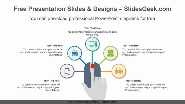 Mouse-radial-circle-PowerPoint-Diagram-Template feature image