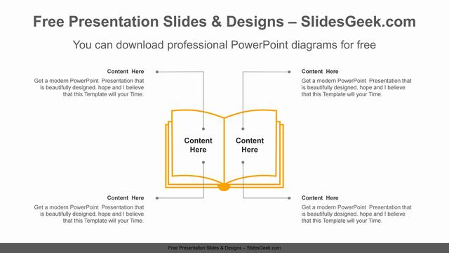 Open-Book-PowerPoint-Diagram feature image