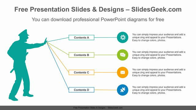 Police-Man-PowerPoint-Diagram-Template feature image