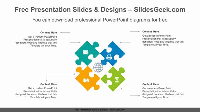 Radial-Puzzle-PowerPoint-Diagram feature image