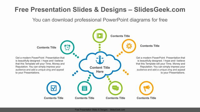 Radial-cloud-PowerPoint-Diagram-Template feature image