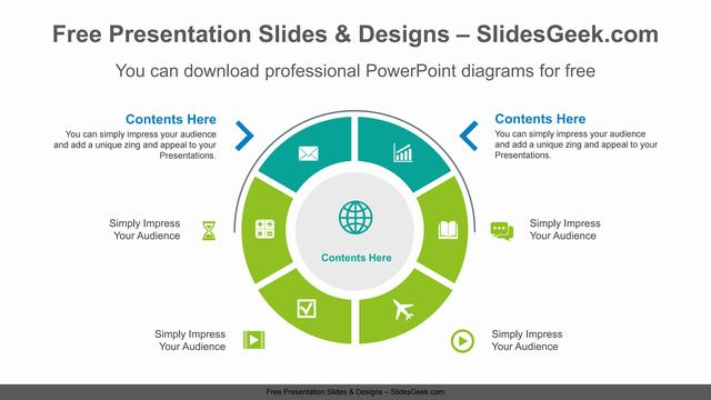Radial-doughnut-PowerPoint-Diagram-Template feature image