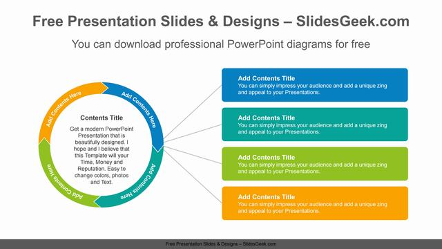 Radial-doughnut-banner-PowerPoint-Diagram-Template feature image
