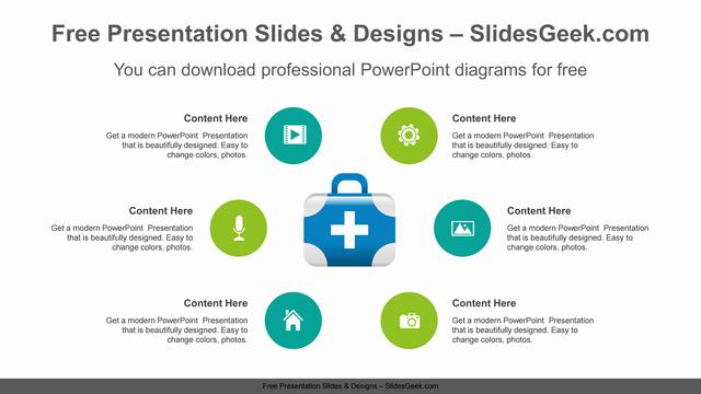 Radial-medical-box-PowerPoint-Diagram-Template feature image