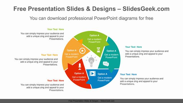 Rotation-sector-form-PowerPoint-Diagram-Template slides feature image